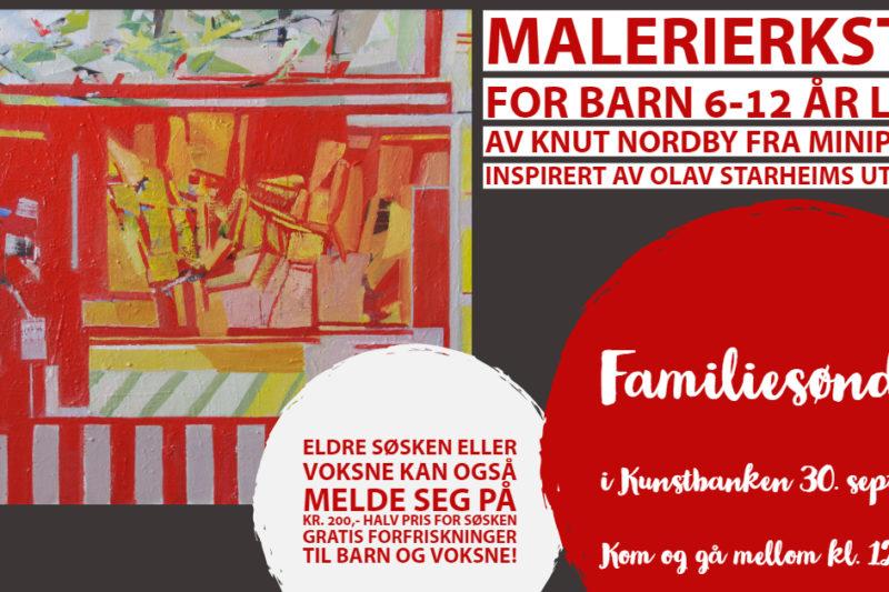 Familiesøndag 30. september kl. 12-15