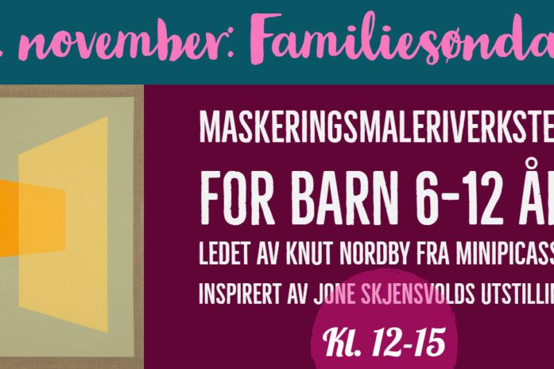 FAMILIESØNDAG 11. november kl. 12-15