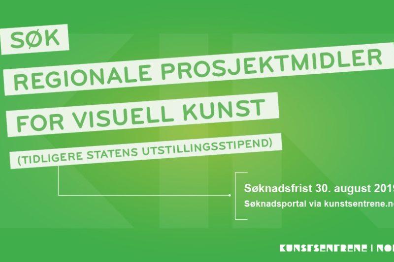 REGIONALE PROSJEKTMIDLER FOR VISUELL KUNST 2019