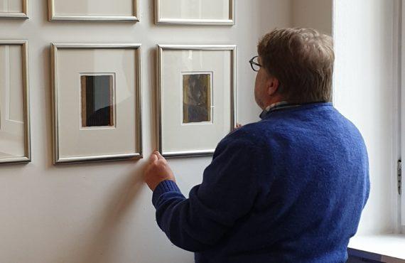 Kunstnerpresentasjon i Kunsthjørnet: TROND EINAR SOLBERG INDSETVIKEN