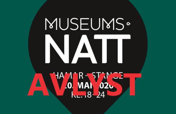 Museumsnatt 20.05.20 (avlyst)